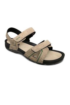 Ceyo Camel Erkek Sandalet 09860