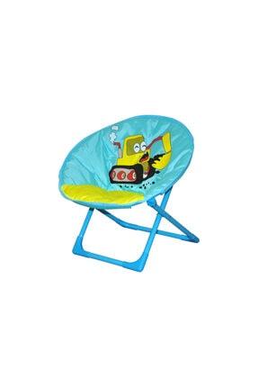 Beach Queen Çocuk Plaj Kamp Sandalyesi (dozer Görselli)