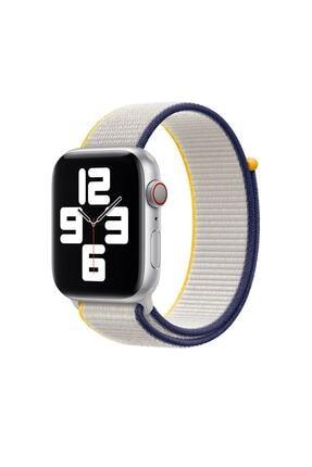 Teknoband Apple Watch Deniz Tuzu Kordon 42/44 Mm Uyumlu Sport Loop