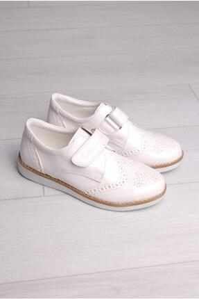 Rıdvan Çelik Erkek Çocuk Beyaz Rugan Klasik Ayakkabı