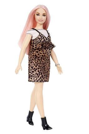 Barbie Fashionistas Bebek ve Aksesuarları Kelebek Desenli Elbiseli FXL49-FBR37
