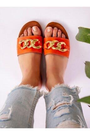 ayakkabıhavuzu Terlik - Turuncu - Ayakkabı Havuzu