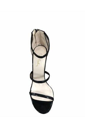 Pierre Cardin Kadın Siyah Ince Topuk Ayakkabı 54053