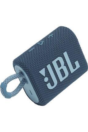 JBL Go 3 Taşınabilir Su Geçirmez Bluetooth Hoparlör Mavi