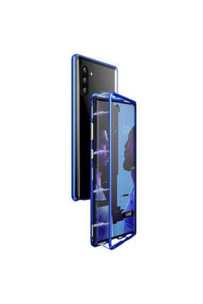 Samsung Galaxy Note 10 Plus Mıknatıslı 360 Koruma Temperli Cam Kılıf