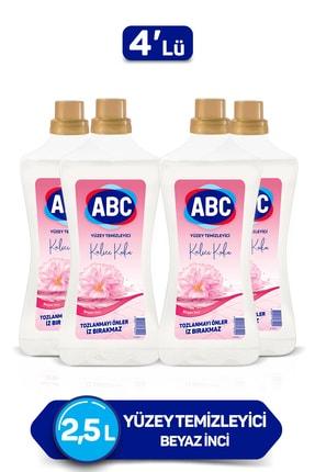 ABC Beyaz Inci Yüzey Temizleyici 2500 Ml X 4