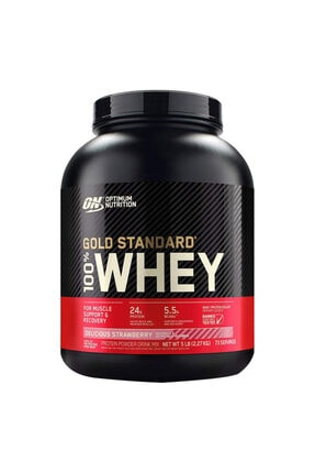 Optimum Nutrition Optimum Gold Standard Whey Protein Tozu 2273 Gr - Çilek