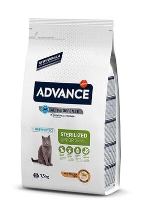 Advance Junior Sterilised Tavuklu Kısırlaştırılmış Genç Kedi Maması 1.5 kg