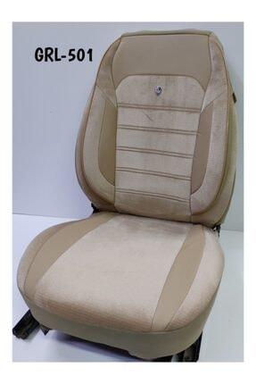 gürlerotoaksesuar Oto Koltuk Kılıfı Standart Airbag Uyumlu  Taytüyü Ortopedik