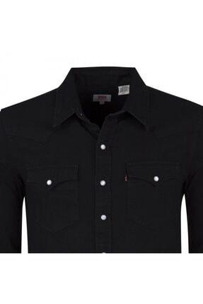 Levi's Erkek Siyah  Kot Gömlek