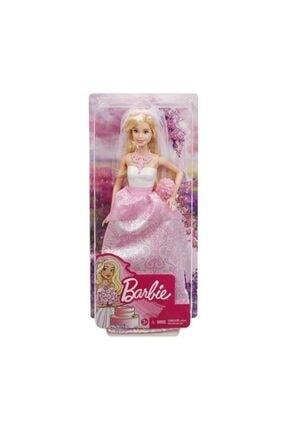 Barbie Beyaz Elbiseli Bebek