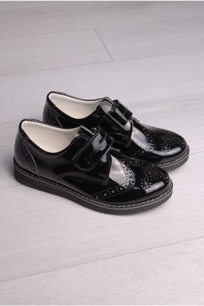 Rıdvan Çelik Erkek Çocuk Siyah Rugan Klasik Ayakkabı