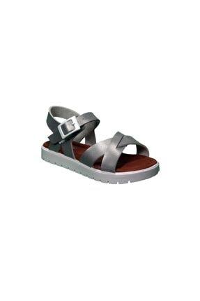 Polaris 91.508159.P Gümüş Kız Çocuk Sandalet 100500222