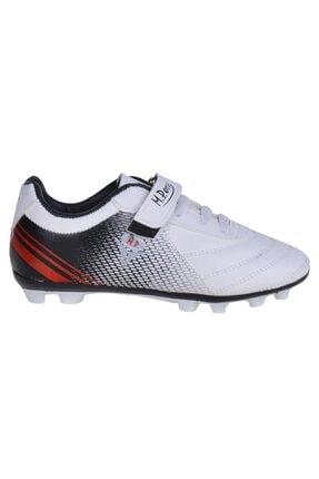MP 211-1813 Ft Beyaz Cırtlı Çocuk Kraon Çim Futbol Ayakkabı