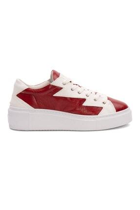 Pegia Kadın  Hakiki Deri  Sneaker La1526
