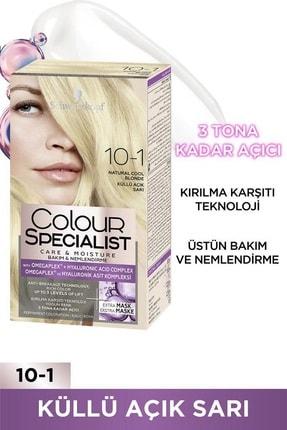 SCHWARZKOPF HAIR MASCARA Colour Specıalıst 10.1 Küllü Açık Sarı