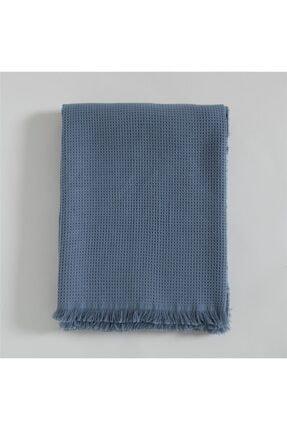 Chakra Color Koltuk Şalı Mavi