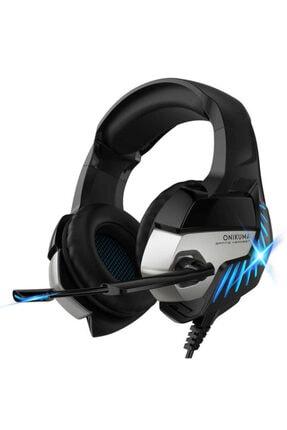 zore Onikuma K5 Pro Ledli Tasarım Kulak Üstü Headset Mikrofonlu 3.5mm Jack Gamer Oyuncu Kulaklığı
