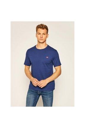 Levi's Erkek Lacivert Original Housemark T-Shirt 56605-0062