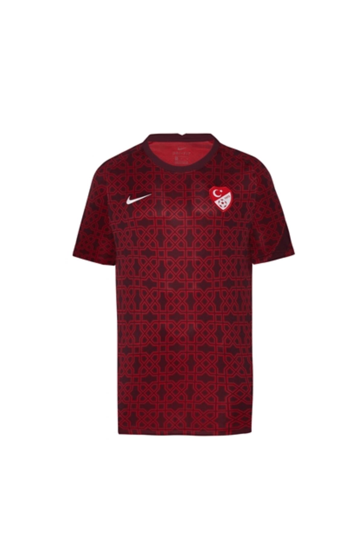 Nike Türkiye Milli Takım Maç Önü Isınma Forması Euro 2020 - Euro2020