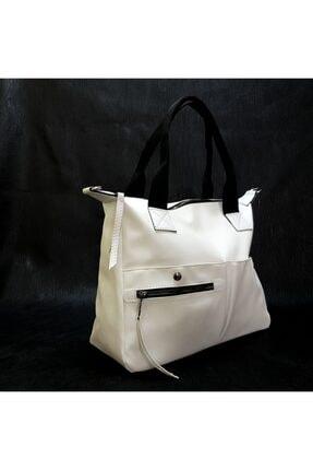 Eylül Bag Legend Kadın En:32cm Yükseklik:27cm Beyaz Omuz Çanta