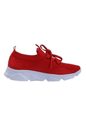 Oblavion Kırmızı Günlük Triko Spor Ayakkabı