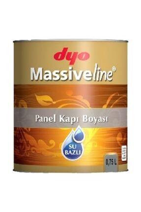 Dyo Massiveline Su Bazlı Panel Kapı Boyası Beyaz 0.75 Lt