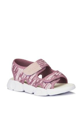 Vicco Kuki Kız Çocuk Mürdüm Bantlı Sandalet