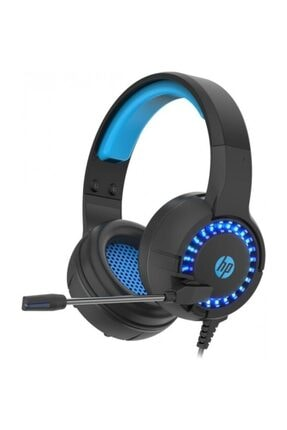 HP Dhe-8011 Siyah Gaming Oyuncu Mikrofonlu Kulaklık