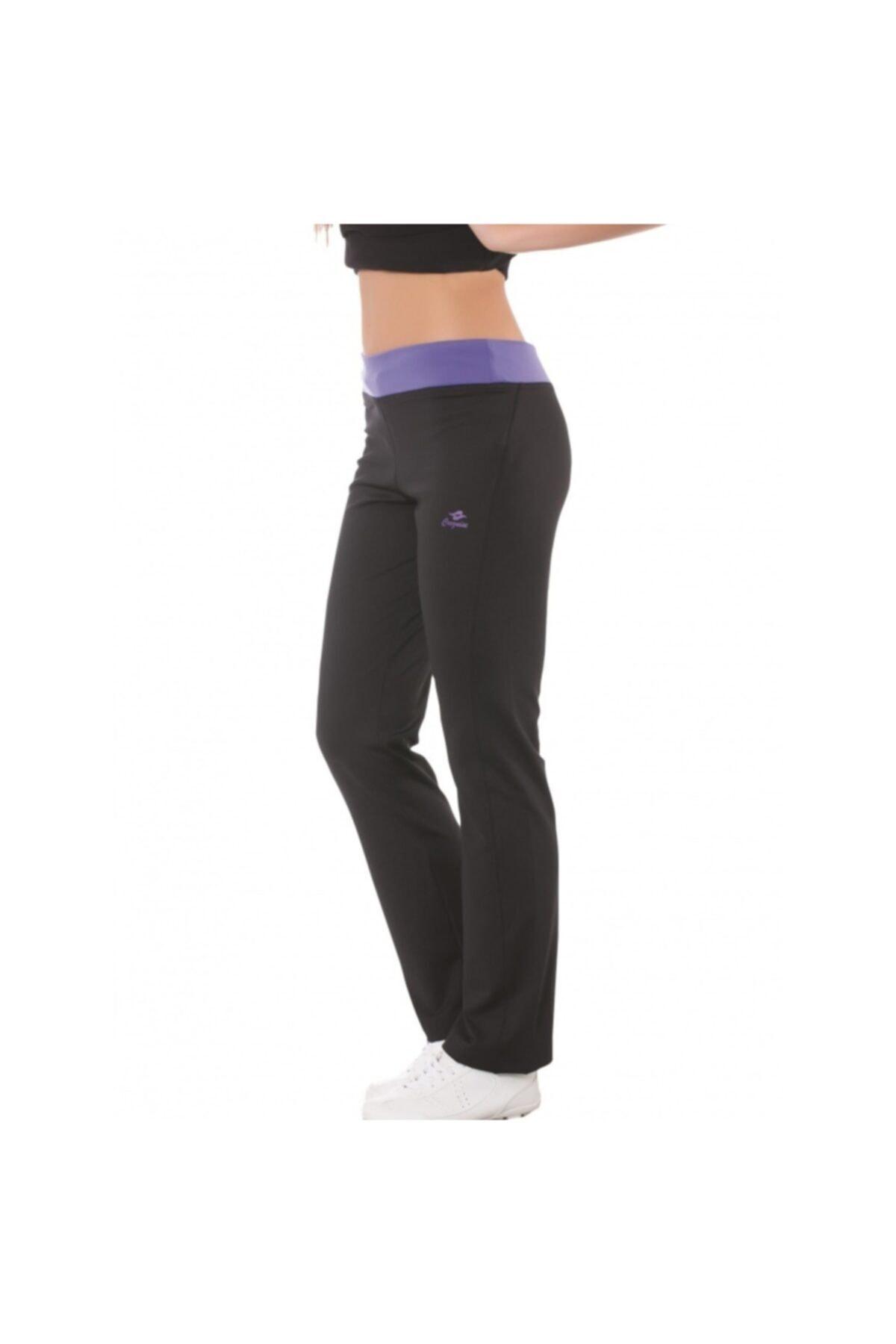 Crozwise Kadın Siyah Regular-fit Spor Pantolon  2101 1