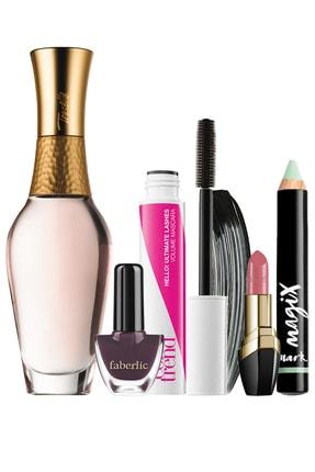 AVON Treselle Edp 50 Ml Kadın Parfüm Maskara Ve Kapatıcı Faberlic Oje Ve Ruj Hediyeli Paket