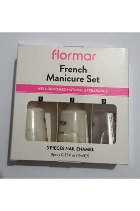 Flormar French Manikür Seti 3lü