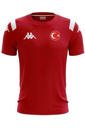 Kappa Milli Takım Forma Erkek Forma Türkiye Tişört 1-304J7WO-250KIRMIZI