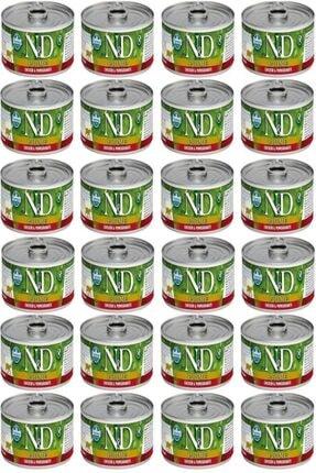 N&D Prime Tavuk Ve Narli Kedi Konservesi 80 Gr 24 Adet