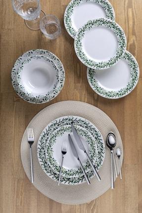 Aryıldız Porselen Cipso 24 Parça Yemek Takımı