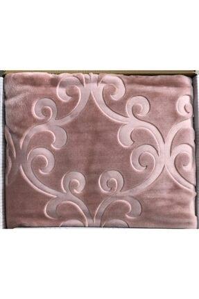Merinos Embos Kabartmalı Tek Kişilik Battaniye 160x220 cm