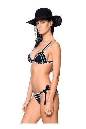 Kom Kadın Siyah Zamaro Bikini