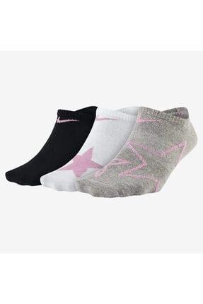 Nike Nıke Everyday Older Kıds' No-show 3'lü Çorap Sx7307-934