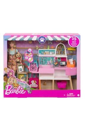 Barbie Ve Evcil Hayvan Dükkanı Oyun Seti