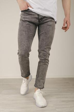 Oksit Reax 172 Taşlanmış Likralı Slim Fit Erkek Jean Pantolon