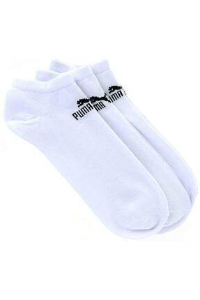 Puma V 3P WHITE Beyaz Unisex Çorap 100040054