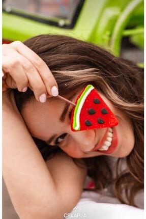 CANDY POP'S Çubuklu Lolipop Sosyete Şekeri Karpuz Aromalı 36 g * 12 Adet