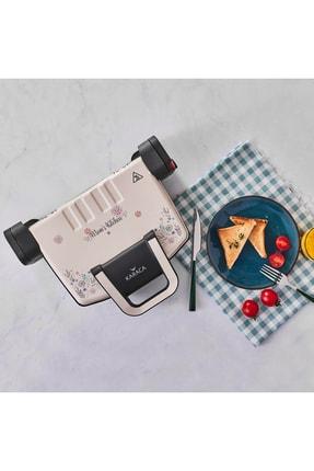 Karaca Future Granit Tost Makinesi Krem Moms Kitchen