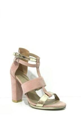 PUNTO Kadın Topuklu Sandalet 446024