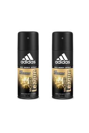 adidas Adıdas Deo Vıctory League 150 ml X 2 Adet