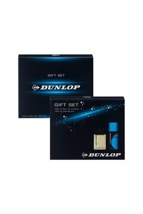 DUNLOP Erkek Klasik Mavi Edt 100 Ml + 150 Ml Deodorant Parfüm Seti 8690587202908