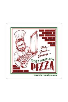 Universal Steve E. Tortellini Sticker Araba Oto Arma Duvar Sticker Ev Dekoratif Çıkartma 15 Cm