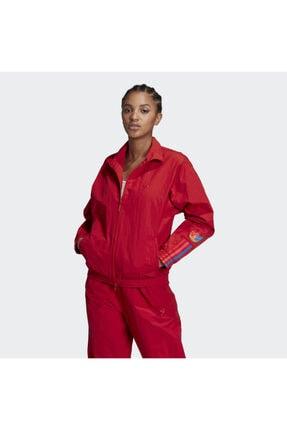 adidas Kadın Kırmızı Track Top Sweatshirt