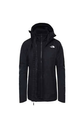 THE NORTH FACE Quest Tricl Kadın Siyah Outdoor Mont (NF0A3Y1IJK31)