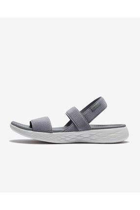 SKECHERS Kadın Gri Sandalet